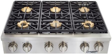 Dacor Heritage HRTP366S Gas Cooktop Stainless Steel, Main Image