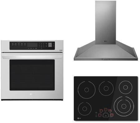 LG  1135502 Kitchen Appliance Package , main image