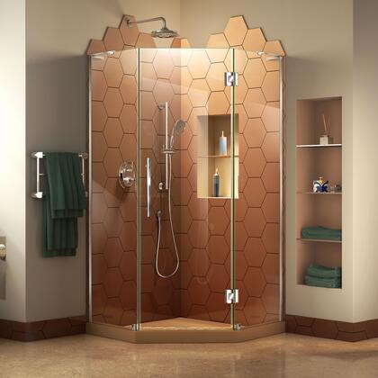 DreamLine  SHEN263838001 Shower Enclosure , Prism Plus Shower Enclosure RS18 C E