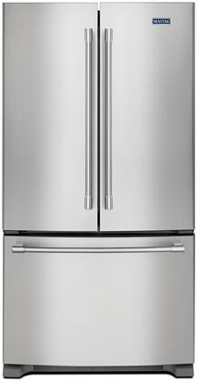 Maytag  MFC2062FEZ French Door Refrigerator Stainless Steel, Main Image