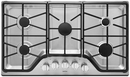 Maytag MGC9536DS Gas Cooktop Stainless Steel, Main View