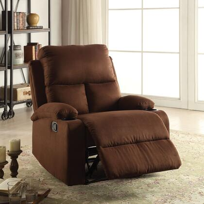 Acme Furniture Rosia 59553 Recliner Chair Brown, 1