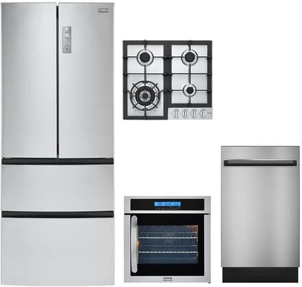 Haier 892167 Kitchen Appliance Package & Bundle Stainless Steel, Main Image