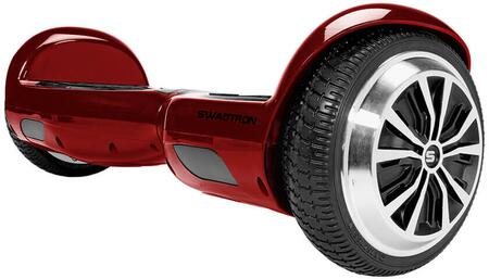 T1RED Swagboard Pro T1 Hoverboard with Non-Slip Footpads  ABS Case and UL2272 Certified in