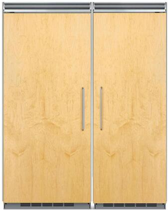 66″ Built In Side By Side Refrigerator Column Set with MP36RA2LP 36″ Left Hinge Column Refrigerator and MP30FA2RP 30″ Right Hinge Column Freezer in