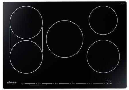 """Dacor Professional HICT305BG Induction Cooktop Black, HICT305BG 30"""" Heritage Series Induction Cooktop"""
