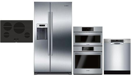 Bosch  1018858 Kitchen Appliance Package Stainless Steel, Main image