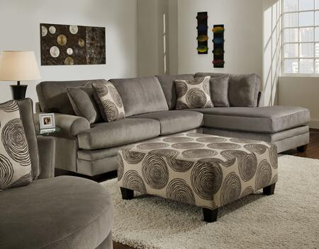 Chelsea Home Furniture Rayna 738642616735292SCOCH Living Room Set Gray, 1