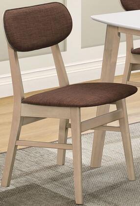 Acme Furniture Rosetta II 74684 Dining Room Chair Brown, 1