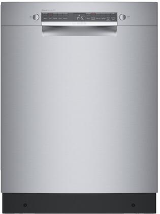 Bosch 300 Series SGE53B55UC Built-In Dishwasher Stainless Steel, 1