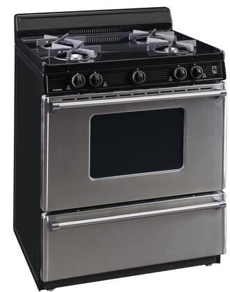 SFK600BP 30″ Gas Range with 4 Open Burners  ADA Compliant  Electronic Ignition  Cast Iron Grates  in Stainless