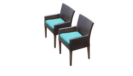 TK Classics BARBADOSTKC097BDCCARUBA Patio Chair, BARBADOS TKC097b DC C ARUBA