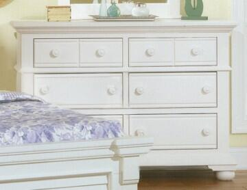 American Woodcrafters Cottage Traditions 6510260 Dresser White, Main Image