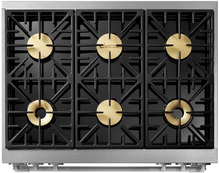 Dacor Heritage HDPR36S Freestanding Dual Fuel Range , 6 Dual-Stack Sealed Burners