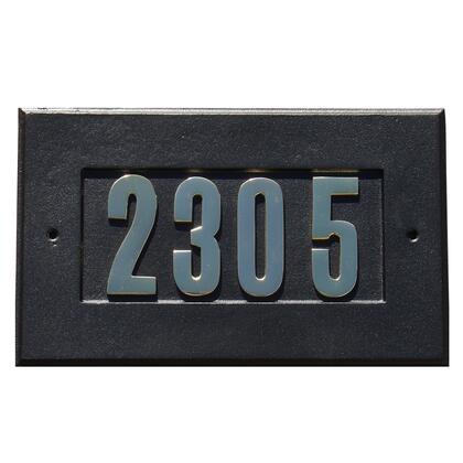 Qualarc Manchester ADD1410BL Address Plaques, ADD 1410 BL