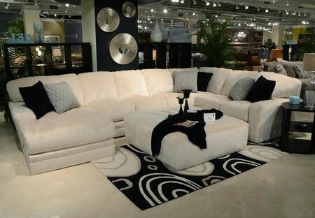 Jackson Furniture Everest 4377753072233401268648268008 Sectional Sofa White, Main Image