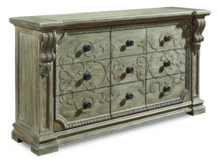 A.R.T. Furniture Arch Salvage 2331312802 Dresser, DL 859d2a9d0d70a7b2432ef4ac873f