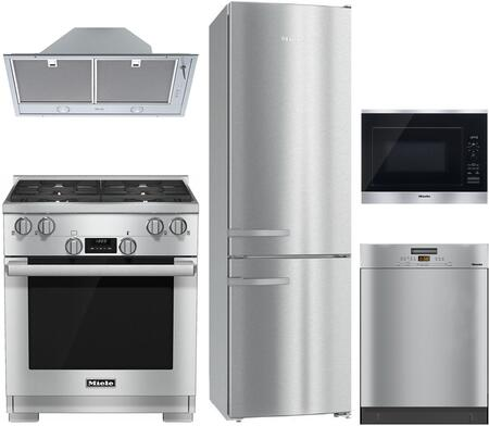 Miele  997585 Kitchen Appliance Package Stainless Steel, main image