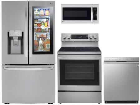 LG  1333064 Kitchen Appliance Package Stainless Steel, Main image