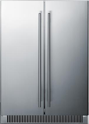 Summit  CL66FDOS Beverage Center Stainless Steel, Main Image