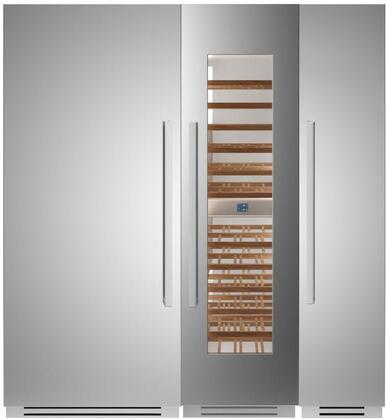 Bertazzoni  1309144 Column Refrigerator & Freezer Set , 1