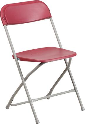 Flash Furniture Hercules LEL3REDGG Folding Chair Red, LE L 3 RED GG