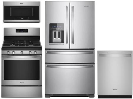 Whirlpool 1115573 Kitchen Appliance Package & Bundle Stainless Steel, main image