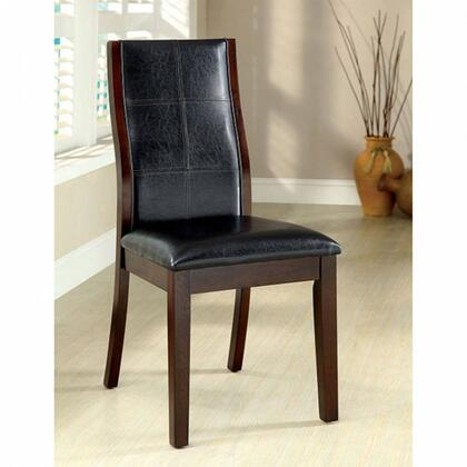 Furniture of America Townsend I CM3339DKSC2PK Dining Room Chair Brown, Main Image