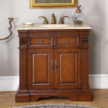 Silkroad Exclusive Lavinia LTP0182UIC36 Sink Vanity, 1