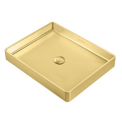 Whitehaus Noah Plus WHNPL1578B Sink Gold, Main Image