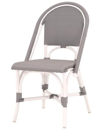 Essentials for Living Sample ZT0651 Dining Room Chair Gray, EFL Paris Outdoor Dining Chair Gray White 1 02
