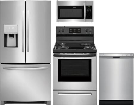 Frigidaire 988365 Kitchen Appliance Package & Bundle Stainless Steel, 1