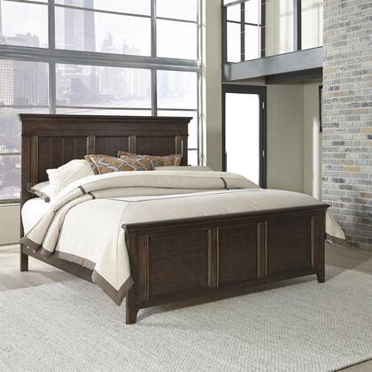 Liberty Furniture Saddlebrook 184BRXPB Bed Brown, 1