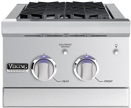 Viking 5 Series VGSB5153LSS Side Burner Stainless Steel, Double Side Burner