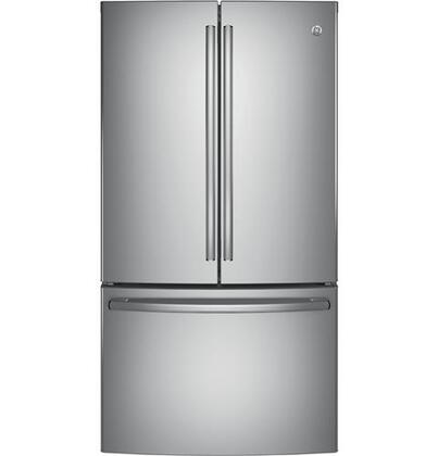 GE  GNE29GSKSS French Door Refrigerator Stainless Steel, Main Image