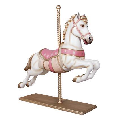 NE1602069 Carousel Horse White &