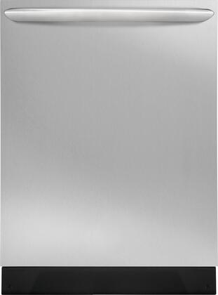 Frigidaire Gallery FGID2466QF Built-In Dishwasher Stainless Steel, Main Image