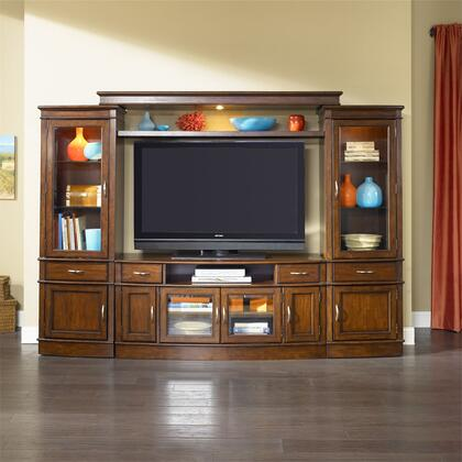 Liberty Furniture Hanover 222ENTWECP Entertainment Center Brown, Main Image