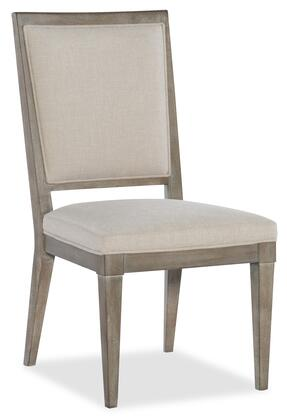 Hooker Furniture Pacifica 607575411LTWD Dining Room Chair Gray, Silo Image