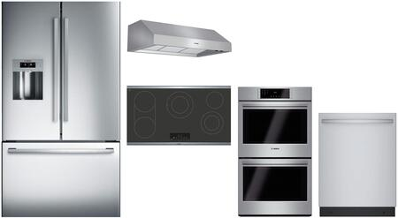 Bosch  902641 Kitchen Appliance Package Stainless Steel, main image