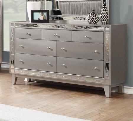 Coaster Leighton 204923 Dresser Silver, Main Image