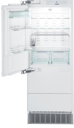 Liebherr  HC1541 Bottom Freezer Refrigerator Panel Ready, HC1541 Integrable fridge-freezer with NoFrost