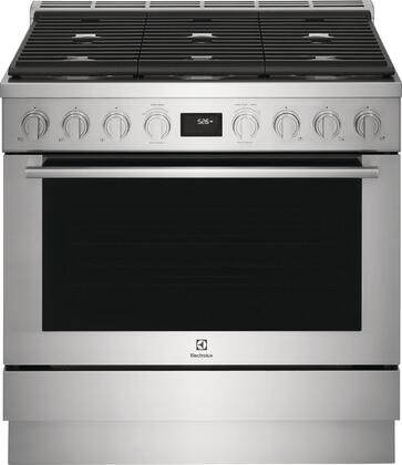 Electrolux  ECFD3668AS Freestanding Dual Fuel Range Stainless Steel, ECFD3668AS Dual Fuel Range