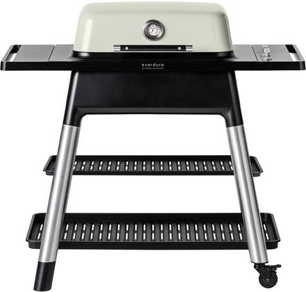 HBG2SUS 47″ FORCE Liquid Propane Grill with 2 Burners  22000 BTU  and Die-Cast Aluminum Body in