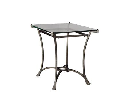 Sutton Collection T30026-T3002620-00R Rectangular End Table in Dark Burnished