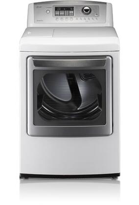 LG SteamDryer DLEX5101W Electric Dryer White, 1