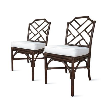 2400029-PB Kara Rattan Chair Set of 2  in Paloma