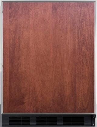 AccuCold FF7BI FF7BBIFR Compact Refrigerator Panel Ready, Main Image