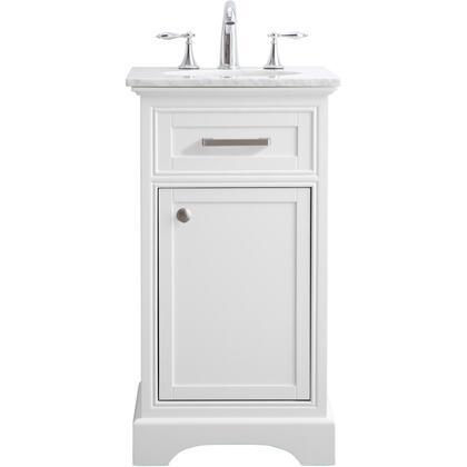 Elegant Decor Americana VF15019WH Sink Vanity White, VF15019WH