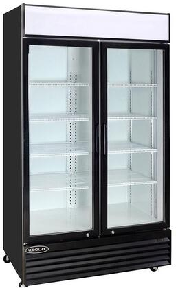 KGM-50 53″ Glass Door Refrigerator with 43.8 cu. ft. Capacity  Digital Temperature Display and LED Lighting  in